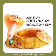 Resin animal funny ashtray