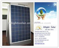 250W ploy solar module for solar system with yingli solar cells