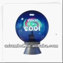 Magic shows LED ball display 360 degree, 360 degree led video display