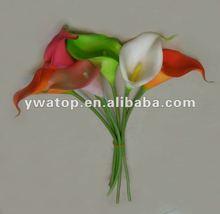 Single Stem PU Calla Lily Artificial Flower