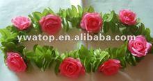Wedding Rose Flower Garland