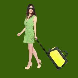 Non woven travel bag