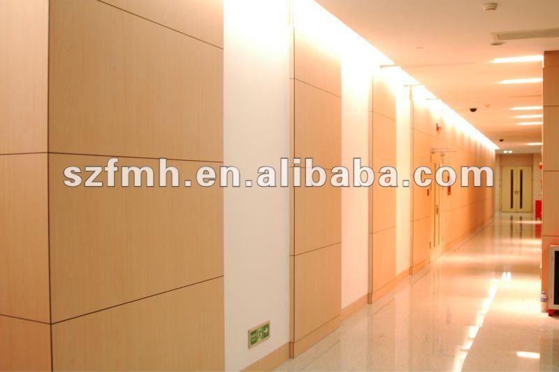 panneau de mur décoratif en stratifié à haute pression de hpl