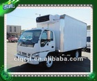 famous Isuzu 4*2 chassis refrigerated truck body