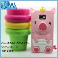lovely cartoon piggy cell phone case