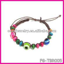 2012 yiwu china colorful plain rhinestone cross bracelet leather bracelet turkey evil eye wholesale china import