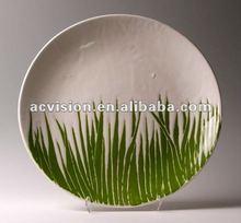 tree decorative plates,cheap decorative plates,cheap plastic plates