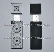 Sound Equipment PVC USB Flash Drive