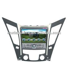 "XS-8086:8"" double din digital touch screen bluetooth car dvd player for HYUNDAI SONATA"