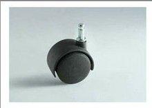 Rubber Black Caster Wheels - Fix