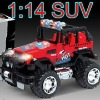 Branded 1/14 Scale 4CH RC SUV Car w/lights & Battery & AC Adapter