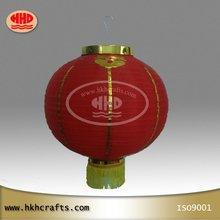 Extérieure nouvel an chinois lanterne de tissu