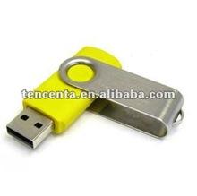 1GB/2GB/4GB/8GB/16GB/usb stick swivel flash drive TPU3002