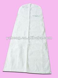 2012 fashion non woven wedding dress cover