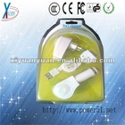5W 0.5a double portable usb power adapter for iphone multi pin charger