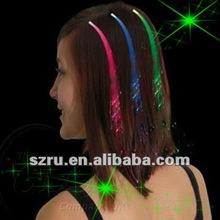 Decorative and Brandnew Led flashing hair braid for wedding bride cosmetic