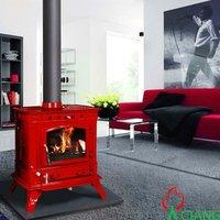 Enamel Italian cast iron coal pellet stoves