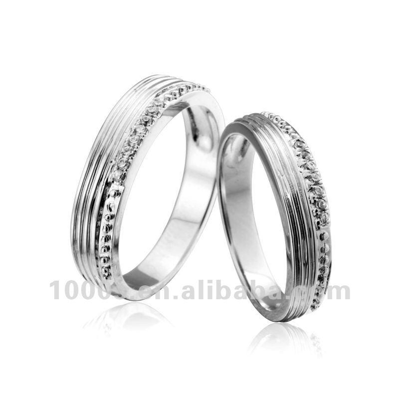 2012 elegante argento anelli di fidanzamento-Monili d'argento-Id ...
