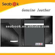 Genuine leather A4 portfolio