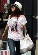 2012 Shuge Fashion Style Grid Decorate Handbag Grey HY12082912