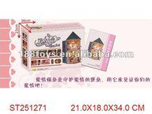 2012 Popular DIY warm wooden house best birthday gift