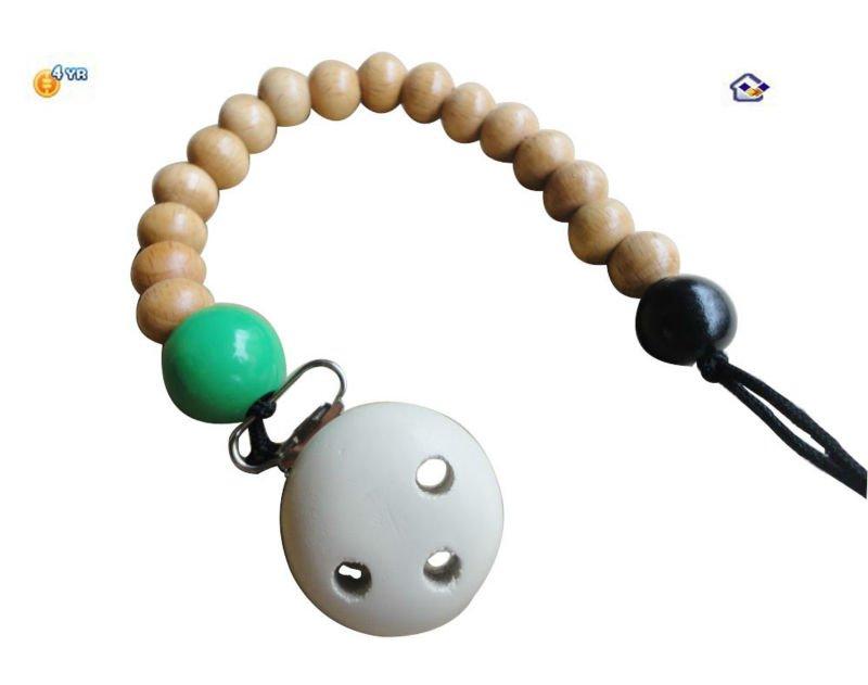 wooden nipple bottle chain