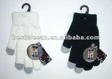 Ladies touch screen magic glove
