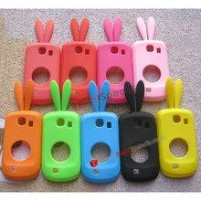 Cute Rabbits Silicone Case Cover for Samsung Galaxy Mini S5570