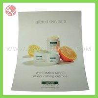 Skin care product A4 custom catalogue