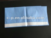 Single Use blue/green surgical utility/plain drape with adhesive tape and CE &ISO certification