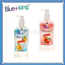 Blue-King Alcohol Hand Sanitizer Pump-266ml.-Peach&Original, 2012 new formula soap