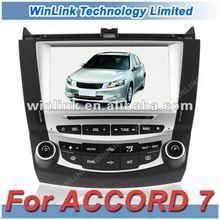 Hot Special Car DVD GPS Navigation For HONDA ACCORD 7