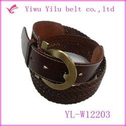 braided belt,braided rope belt,men braided leather belts