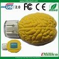 El cerebro personalizado barato formó los palillos 1gb del usb con la compañía U6088 impreso insignia
