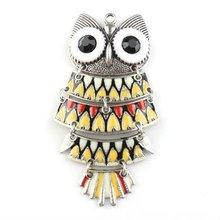 Wholesale Charm Enamel Owl Pendant142917