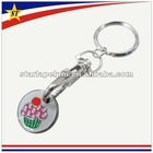 2012 hot sale metal trolley coin