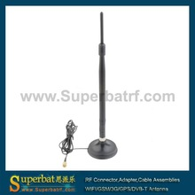 2.4Ghz 7dBi RP-SMA Antenna for Wireless LAN CARD 2.4 ghz antenna 13dbi omni wifi antenna for rp-sma