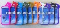Bear design cute silicone custom phone cover case for Samsung Galaxy S3 i9300