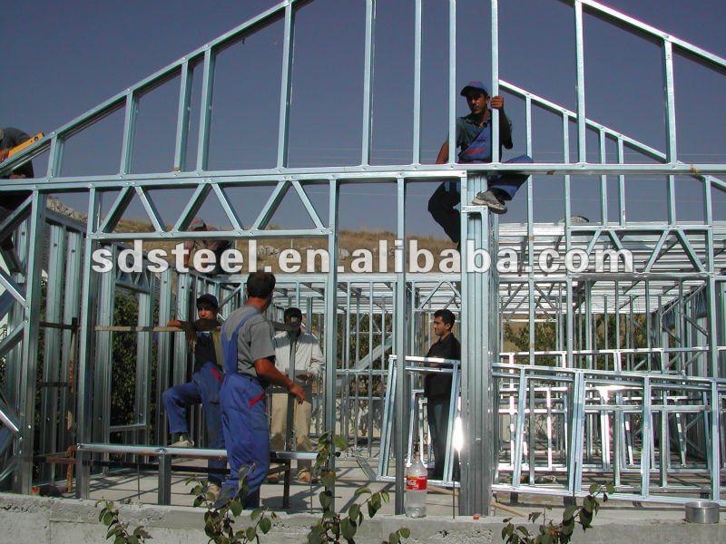 CE light steel villa