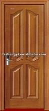 four panel interior wood single front door