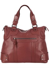 100% real leather classic hobo bags