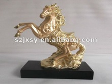 Delicate Crafts Polyresin Office Decorative Horse Ornaments