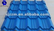 PPGI Glazed Types of Roof Tiles