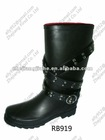 Fashion and Locomotive rubber rain shoes