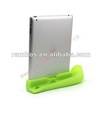 Loudspeaker silicone horn stand speaker amplifier for ipad 2 3