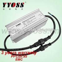 CE & ROHS Aproval 45W 24V LED Drivers 220v 12v ac Transformer 3 years warranty