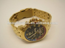 men's stainless steel watch with automatic movement(HLSS-06-2)