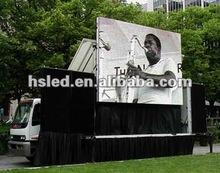 2012 new advertising led mobile board for trucks