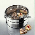 Recipiente de aço inoxidável jar