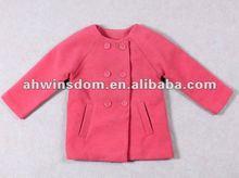 2012 fashion girls back bow relaxation children coat